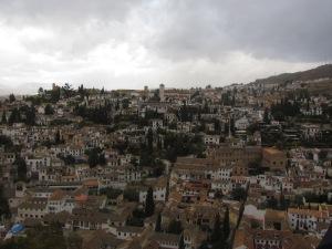 Granada la de los árabes llorada