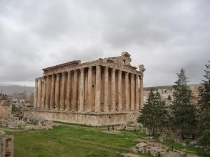 Baalbek templo de Baco