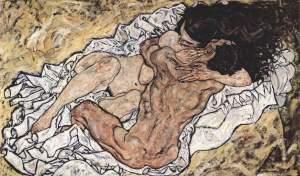 Egon Schiele pareja