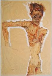 Egonself-portrait-schiele-1911-met