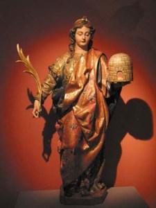Santa Eulalia de Mérida en la Catedral de Santa María la Mayor, Mérida-Extremadura