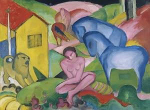 Franz Marc, Der Traum. 1912.