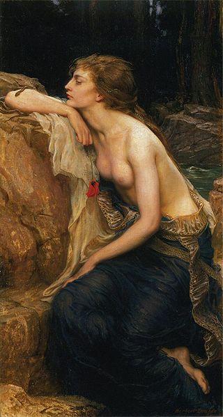 Herbert James Draper, Lamia. 1909.