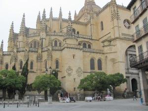 Al igual que otras Segovia cuenta con una catedral envidiable