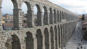 El gran Acueducto romano de Segovia
