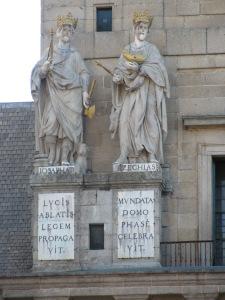 Plática entre Josafat y Ezequías