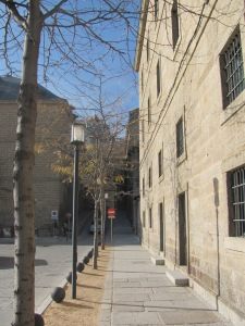 Por las calles de El Escorial