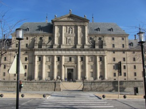 Frontal de El Escorial