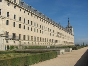 Lateral de El Escorial