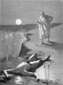 Georg Pauli, Oden vid Mims lik. 1900.