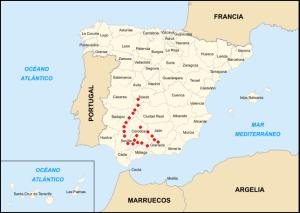 Primera ruta Andalucía