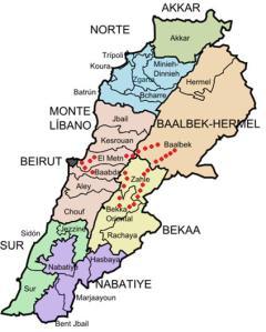 Ruta El Líbano
