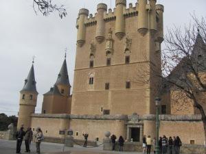 Entrada Alcázar de Segovia