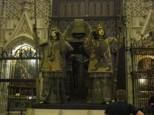 Sevila Catedral Cristóbal Colón