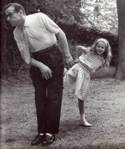 Simenon and Daughter