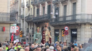 Celebración de Santa Eulària de Barcelona, 12 de febrero de 2011