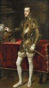 Felipe II de España. 1551