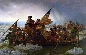 Washington Crossing the Delaware, Emanuel Leutze. 1851