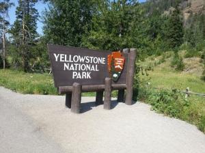 Entrada principal Yellowstone Park