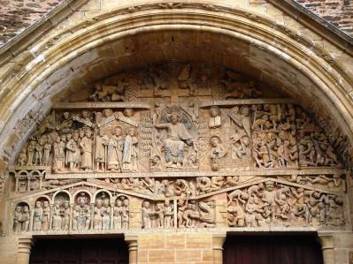 Abadía Santa Fe de Conques, Francia (Barroco)