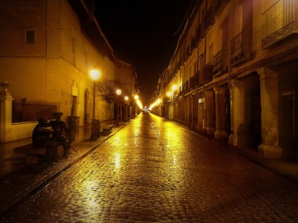 La última noche en Alcalá