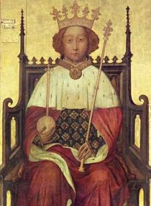 Anonymous, Richard II King of England. c. 1390.