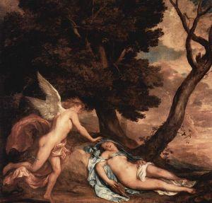 Anton van Dyck, Eros y Psyque. 1638.
