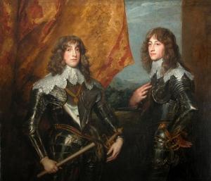 Anton van Dyck, Retrato de los príncipes Palatinos. 1637.