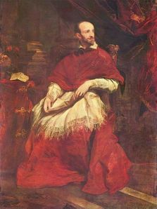Anton van Dyck, Retrato del Cardenal Guido Bentivoglio. Siglo XVII.