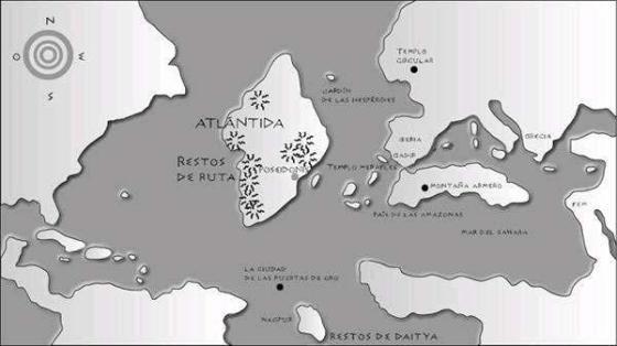 Atlántida similar a Groenlandia