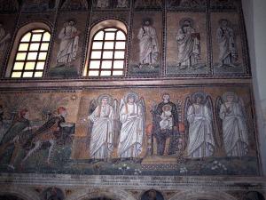 Arte Bizantino. Apolinar, magos y virgen