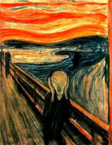 Edvard Munch, El grito. 1896.