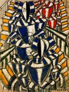 Fernand Léger, La escalera. 1914.