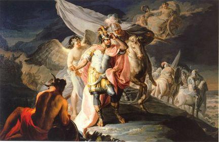 Francisco de Goya, Aníbal Vencedor. 1770.