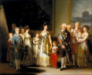 Francisco de Goya, Familia de Carlos IV. 1800.