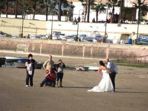 Y se casó Almudena en el sur