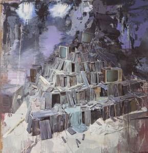 Julio Vaquero, Zigurat de misterios. 1998.