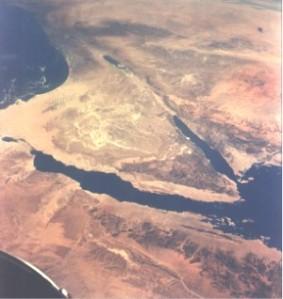 La región del Sinaí