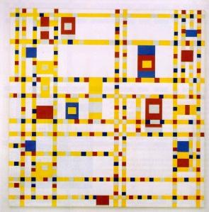 Piet Mondrian, Broadway Boogie-Woogie. 1921.
