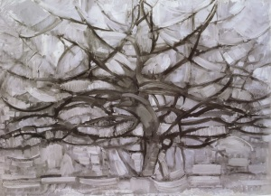 Piet Mondrian, Árbol gris. 1912.