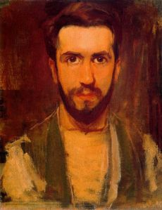 Piet Mondrian, self-portrait. 1900.