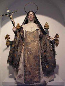 Catalina de Bolonia en Museo Las Claras de Murcia