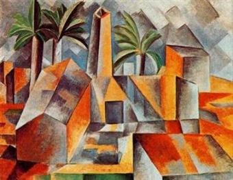 Pablo Picasso, Fábrica de Horta del Ebro. 1909.