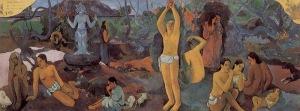 Paul Gauguin, D'où venons-nous? Que sommes-nous? Où allons-nous? 1897