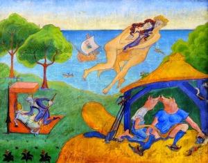 Paul Ranson, L'enlèvemenet. 1889.