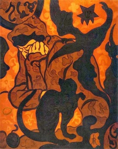 Paul Ranson, Witch and Cat. 1893.
