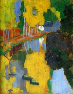 Paul Sérusier, Le Talisman. 1888.