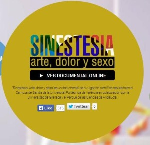 Sinestesia. Arte, color u sexo