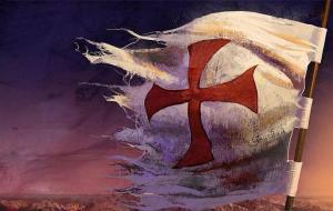 Bandera Templarios