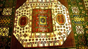 The Azerbaijani carpet